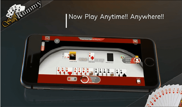 Play Rummy Anytime!! Anywhere!!
